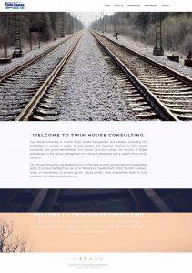 Website Design for Twin House Consulting in Pretoria by WebzDesign.co.za