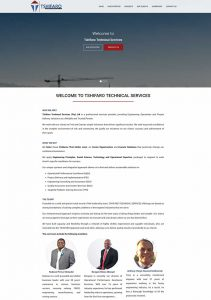 Website Design for Tshifaro in Pretoria by WebzDesign.co.za